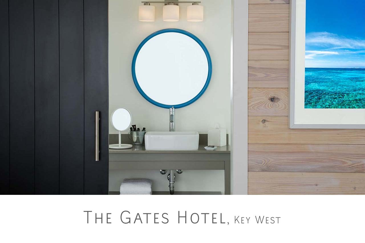 <div class='title'>           Designer-Gates-Hotel-Key-West-Florida         </div>                 <div class='description'>           The Gates Hotel Key West         </div>