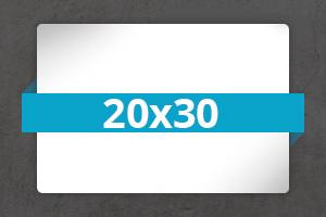 Metal 20x30 ovpiba