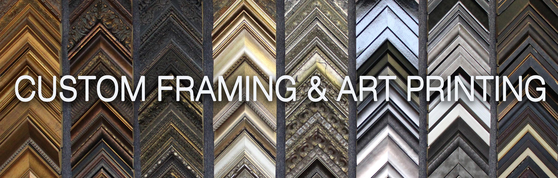 <div class='title'>           Custom Framing and Art Printing         </div>                 <div class='description'>                    </div>