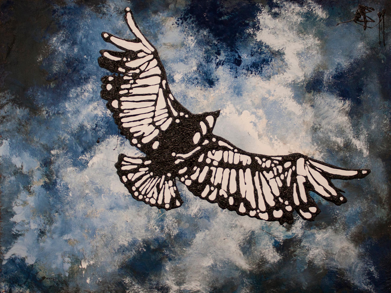 Critters whitebird 18x24 x2prp4
