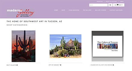 Proper art gallery websites for artists and photographers for Best website to sell art