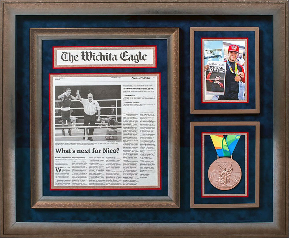 Custom picture framing at art frame in west wichita ks our nico hernandez project made it to the tru vue competition semi finalists we didnt win but glad that we got the opportunity and it will make a solutioingenieria Images