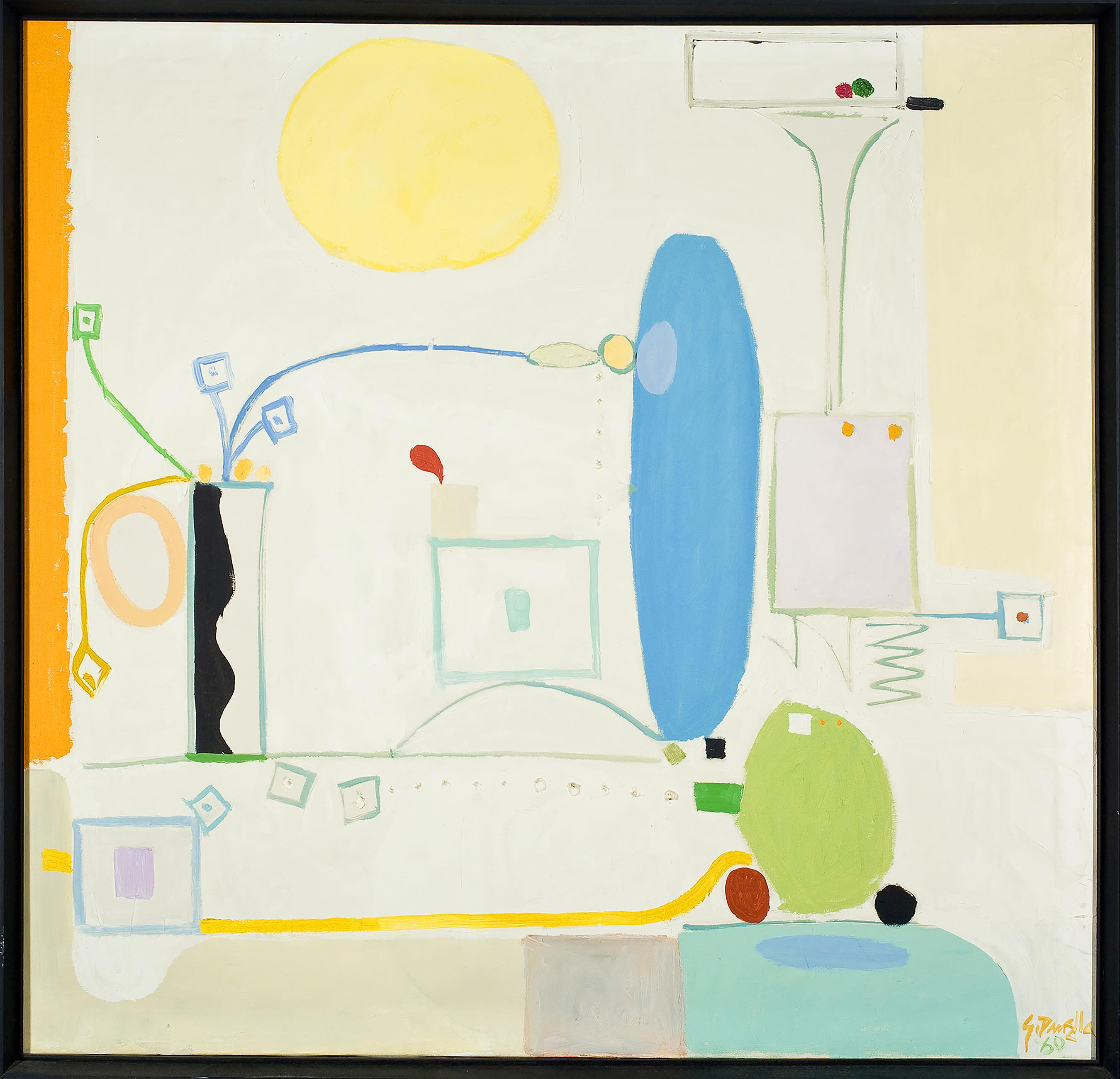 20m asd s3 ensemble 1960 oil on canvas 43x41 framed bfvydn