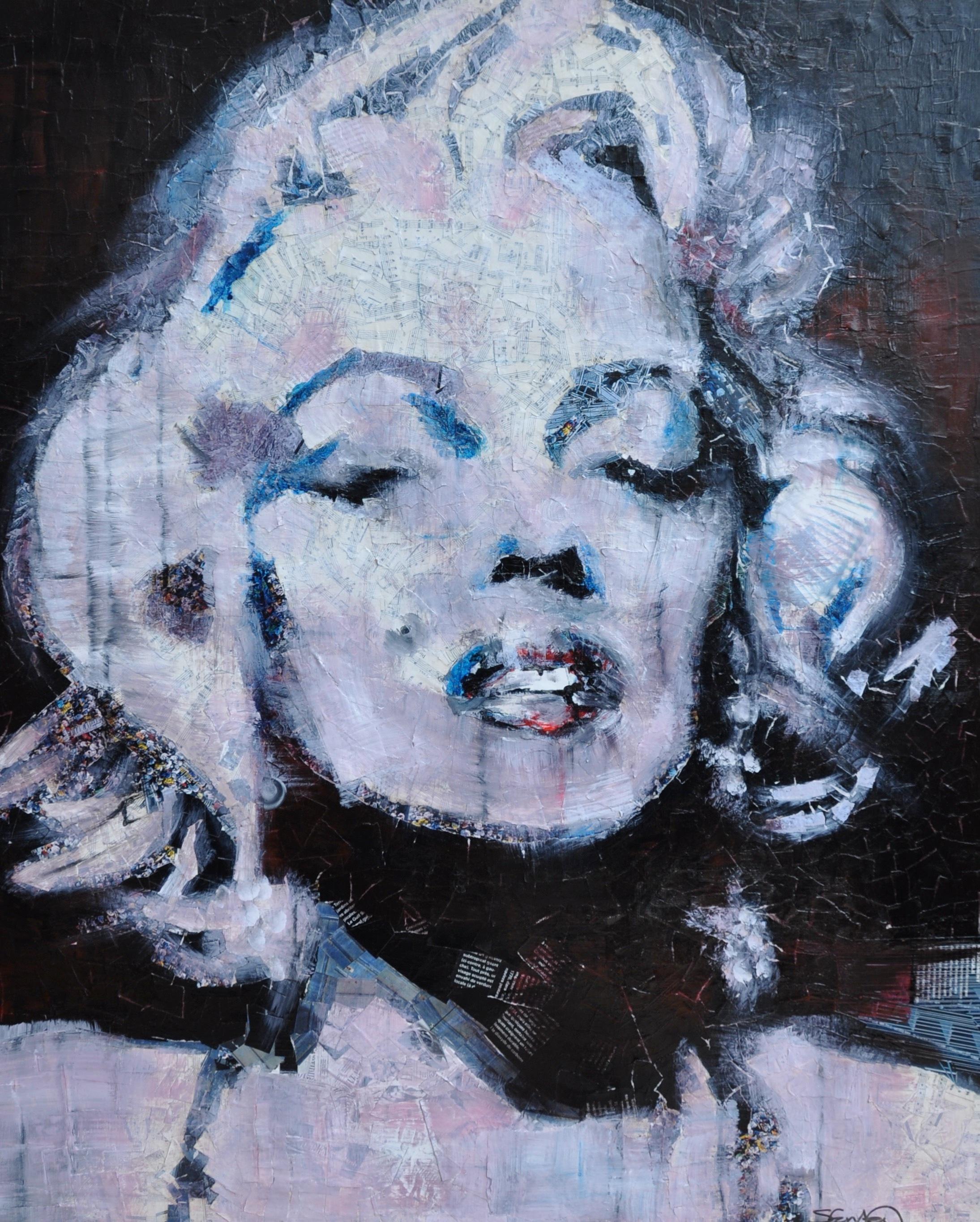 Monroe collage by steph fonteyn alacyb