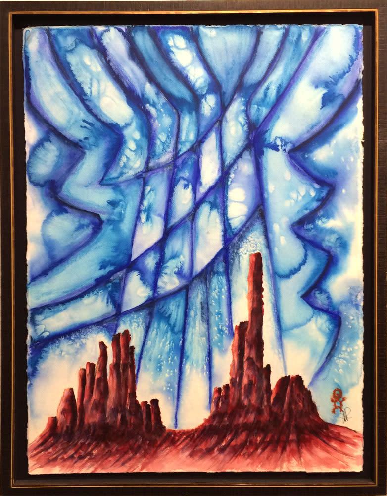 The sky spirit comes to monument valley jbxxqm