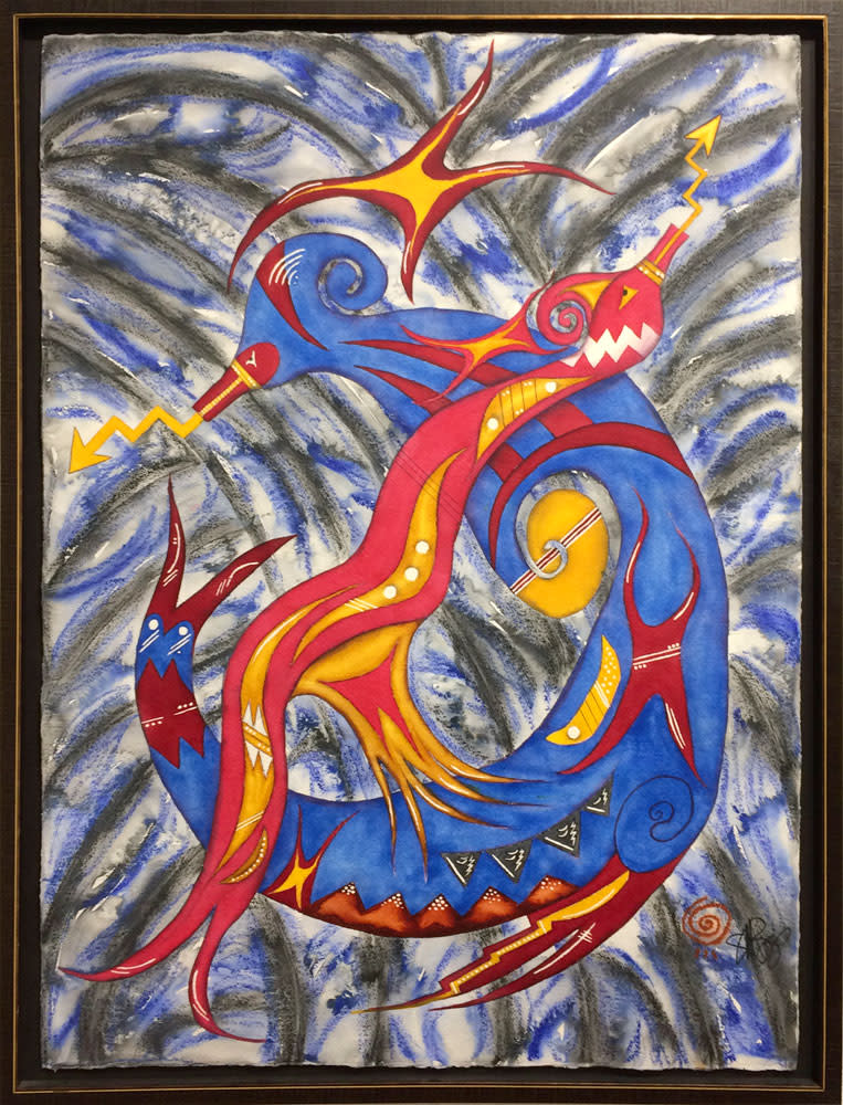 The avanyu series dance of the serpents wervxe