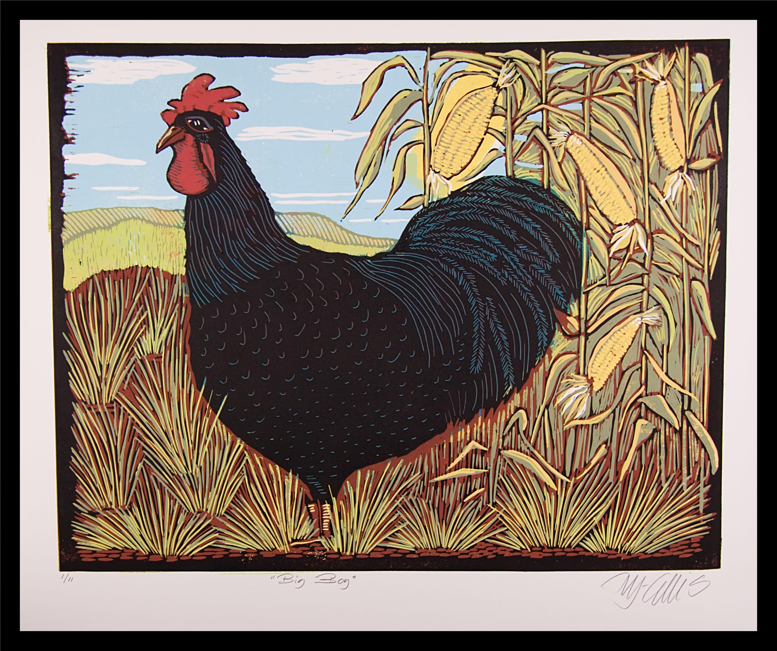 Rooster xl framed k5rqmt