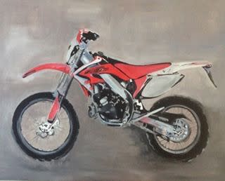 Motorbike commission by steph fonteyn vs1kmr