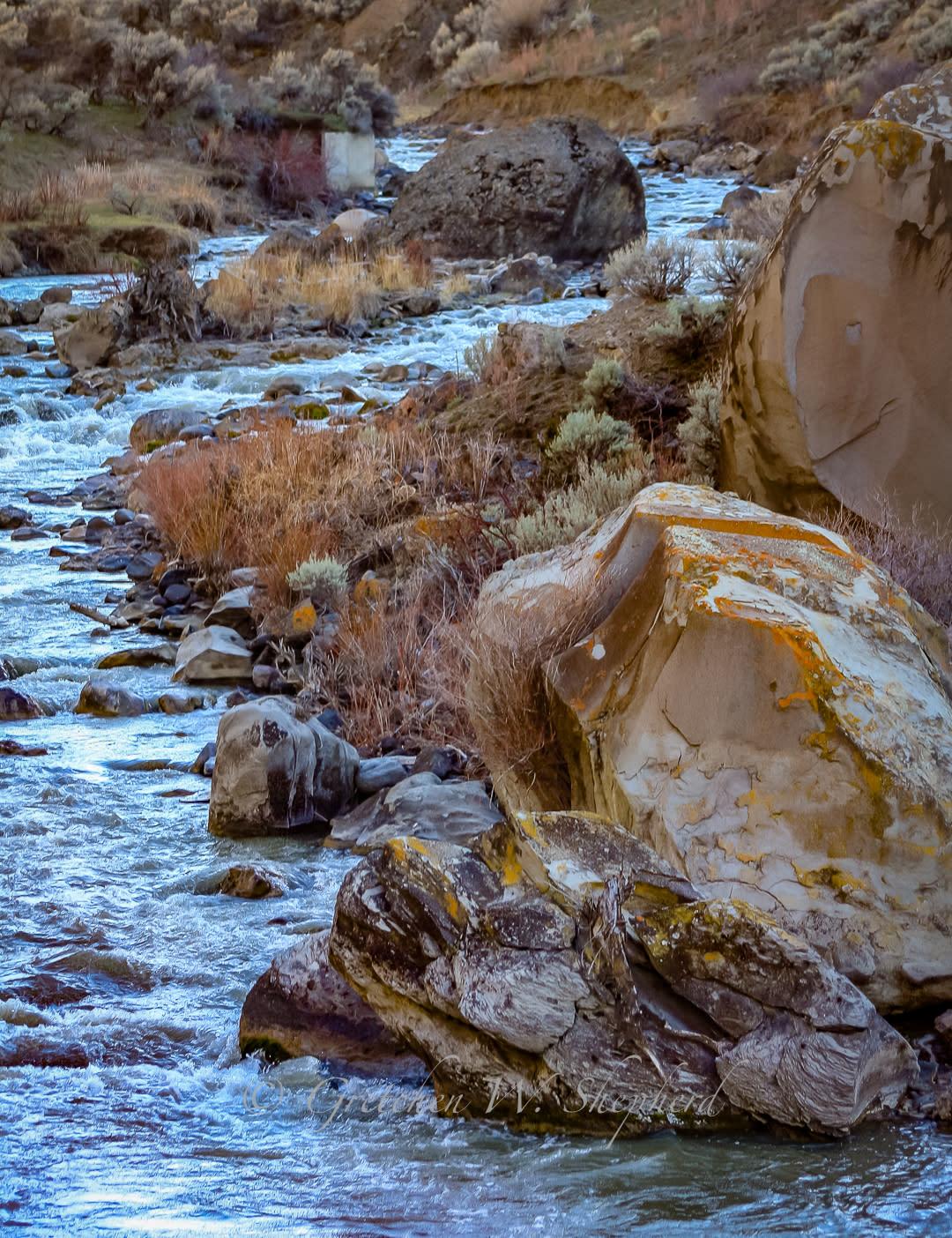 <div class='title'>           A River's Path         </div>