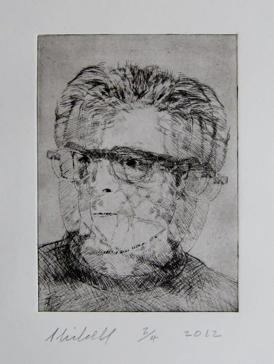 Self portrait of artist skibell vbhlyd