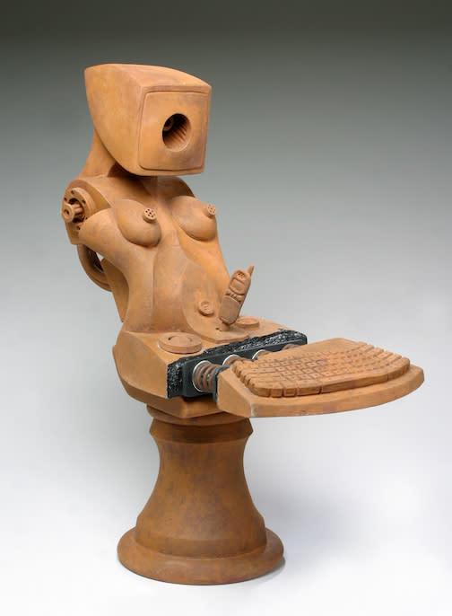 Hermaphroditic bust j98x55