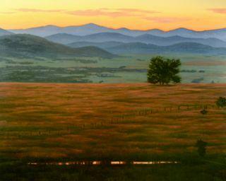 Sunset prairie view 30x24 txqbew