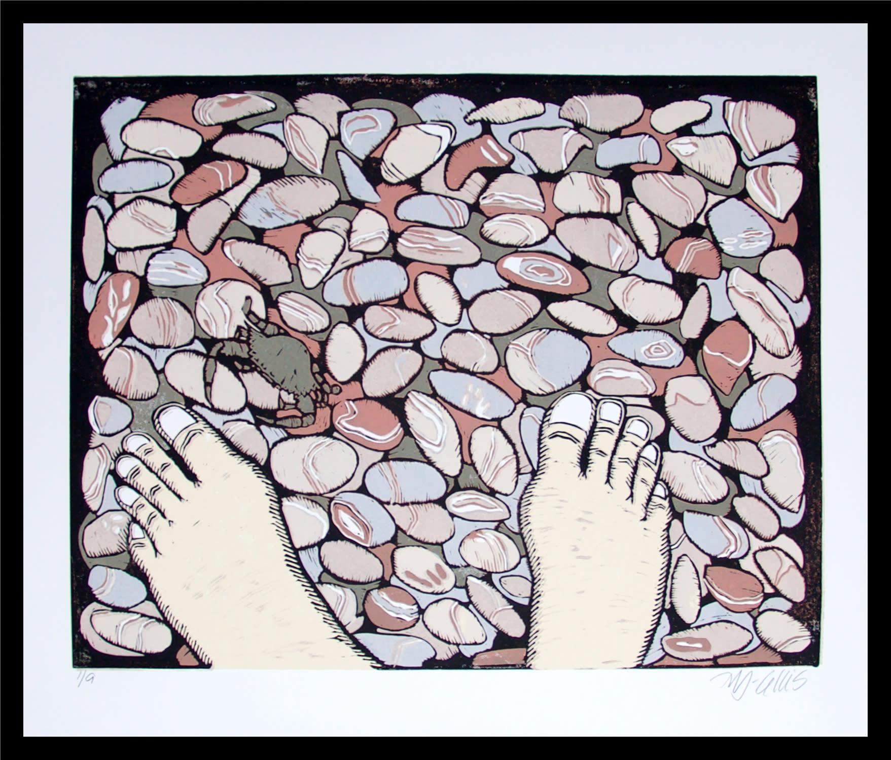Bare feet framed fsmony