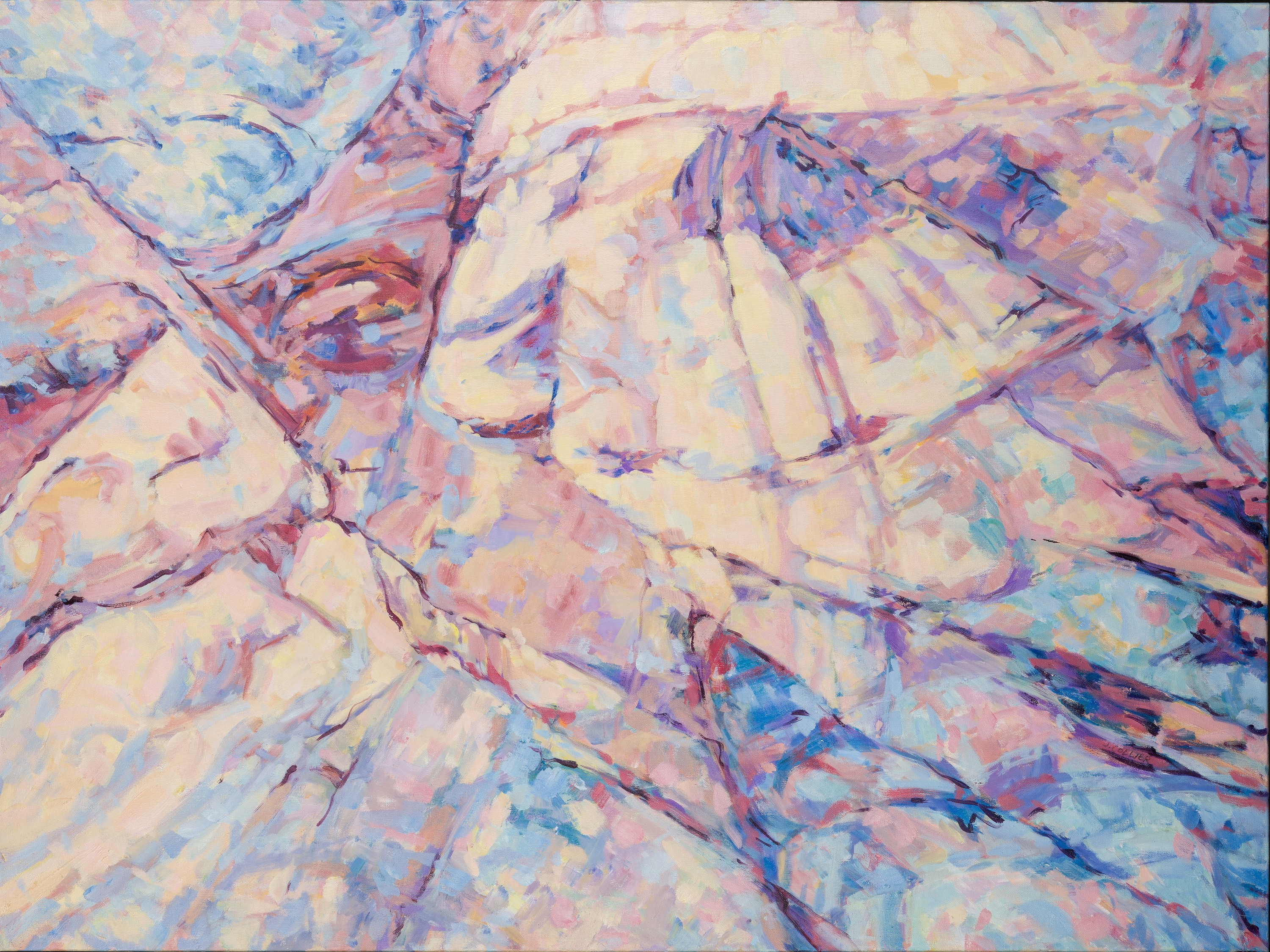 Red rock canyon   pastel cracks in time 2 horiz xhuggs