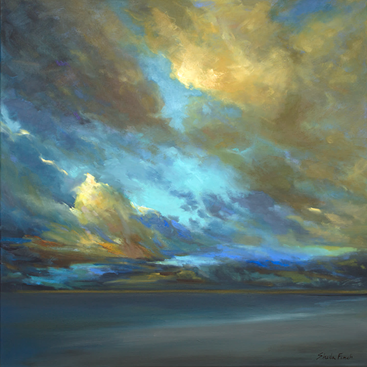 4502 coastal clouds38 24x24 oil f3ej8r