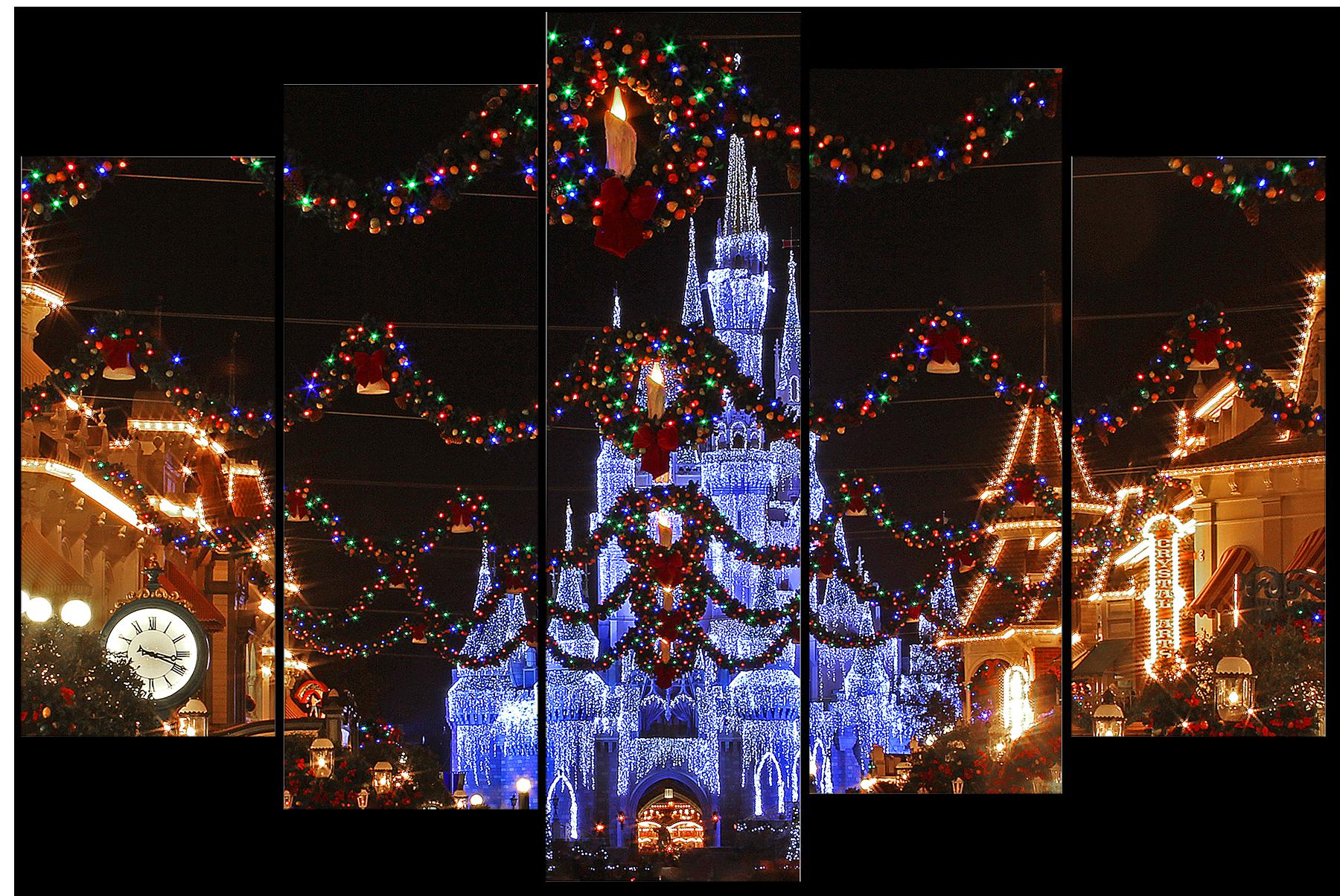 Magic kingdom at christmas l6pd30