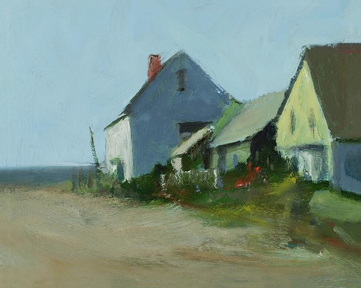 Beach houses 8 x 10 sgbe8k