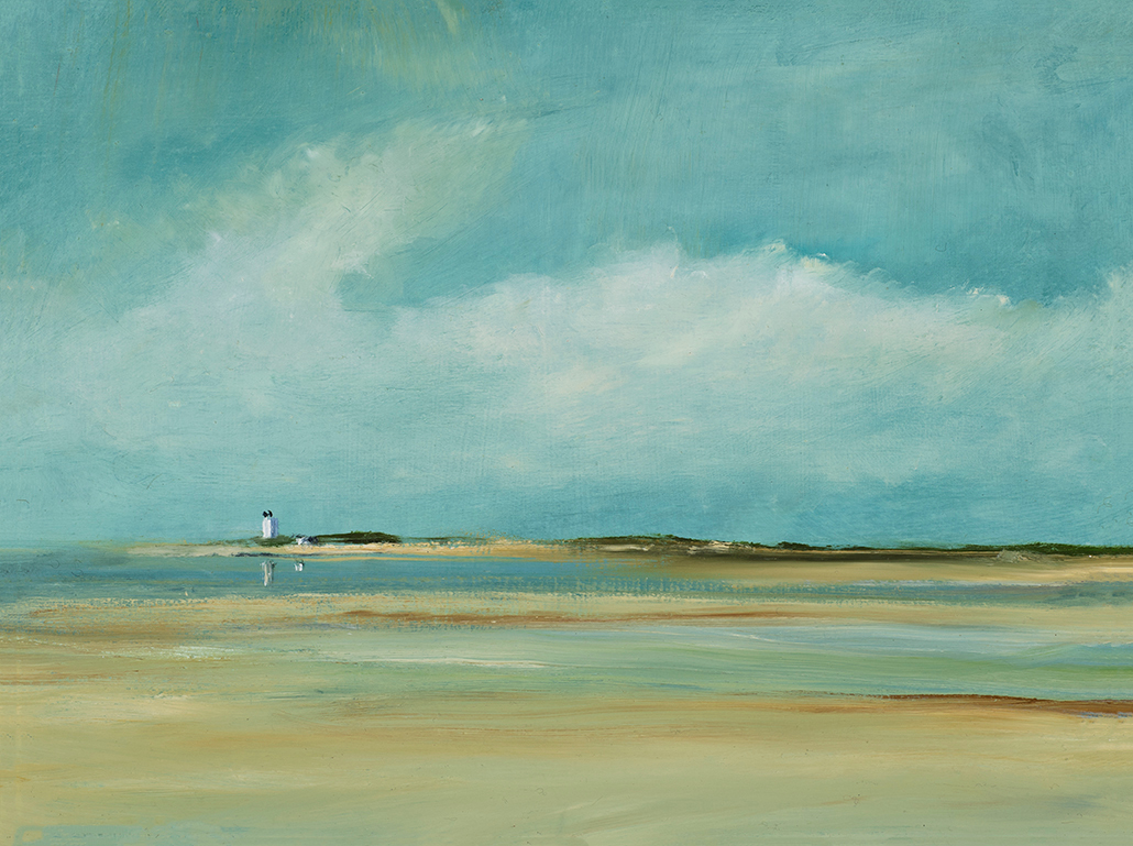 Tide going out 12 x 16 tegcyw