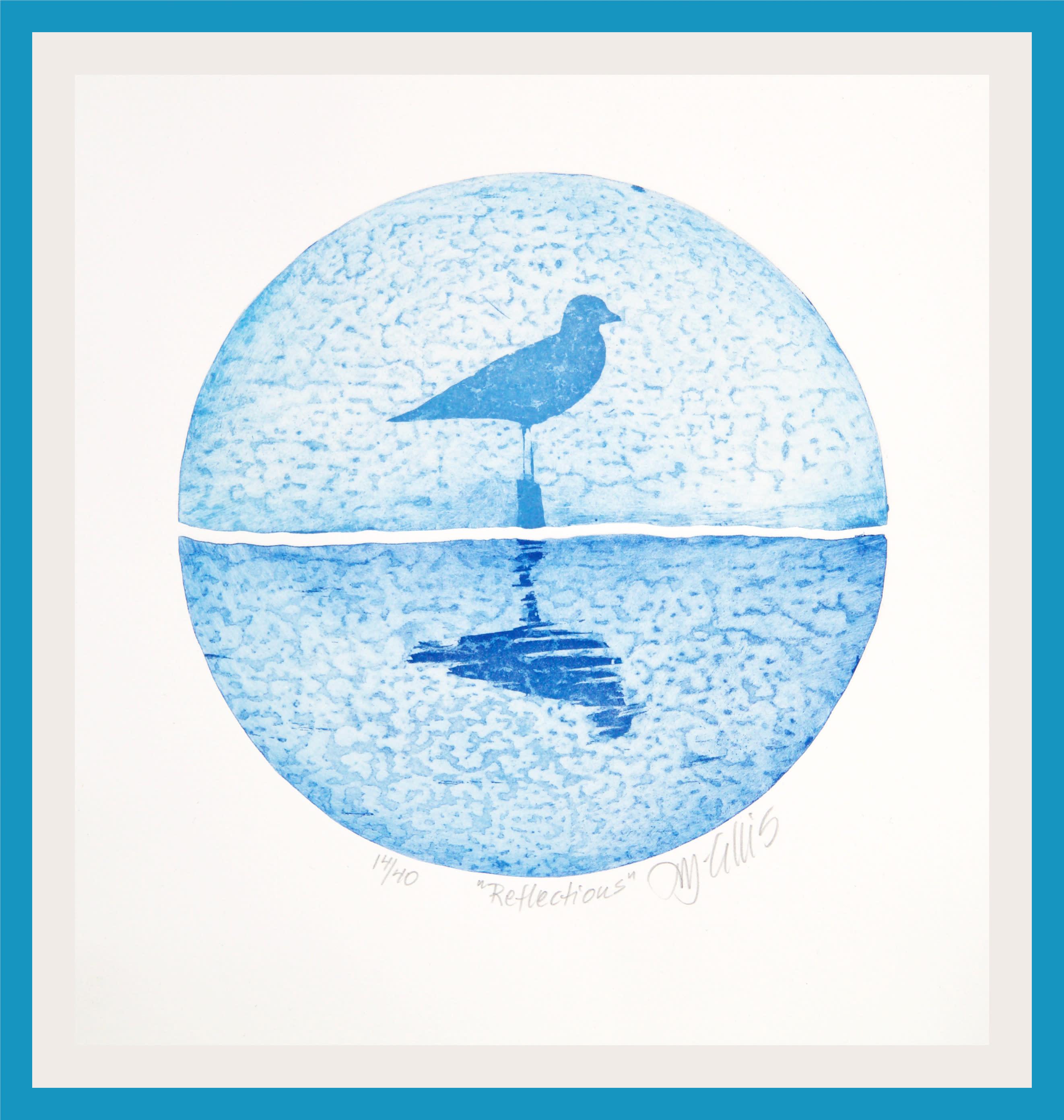 Reflections blue awggai