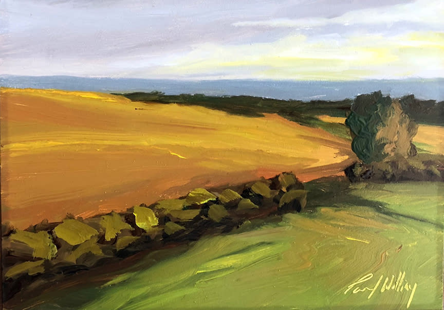 Island field by paul william artist wvk0ux