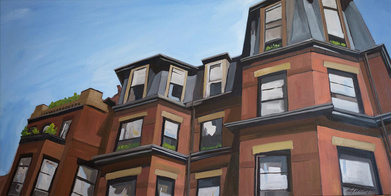 Marlborough street rooflines by paul william gzjpfa