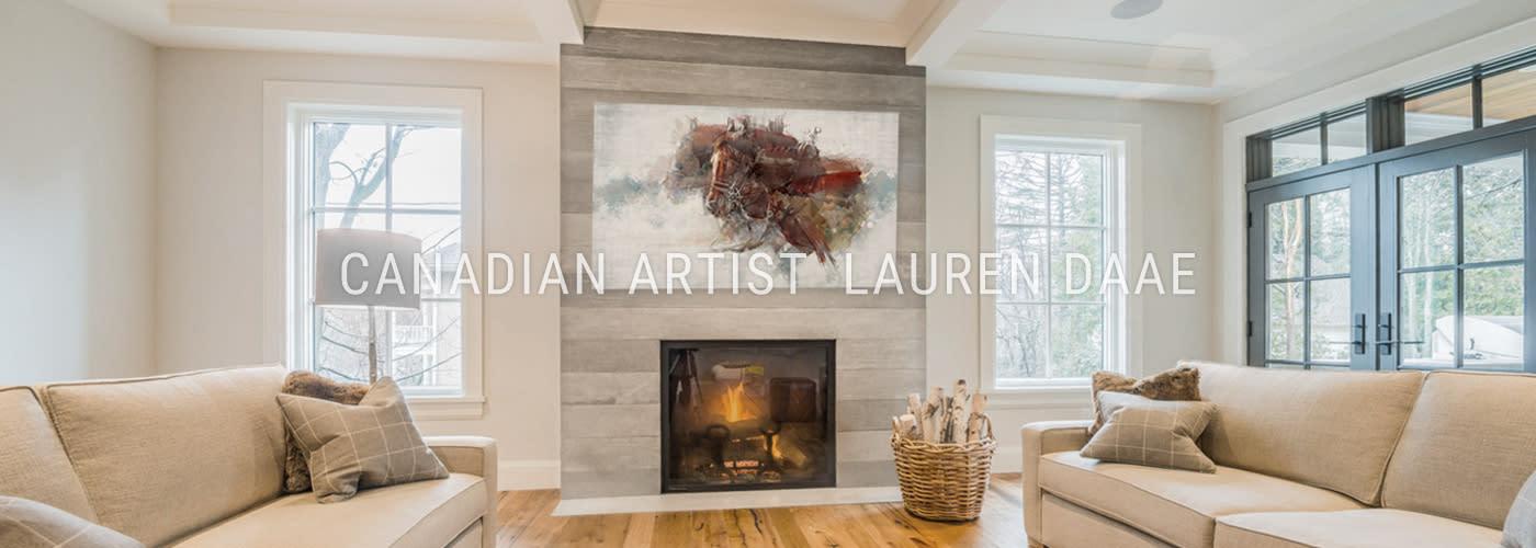 <div class='title'>           Canadian Artist Painter Lauren         </div>