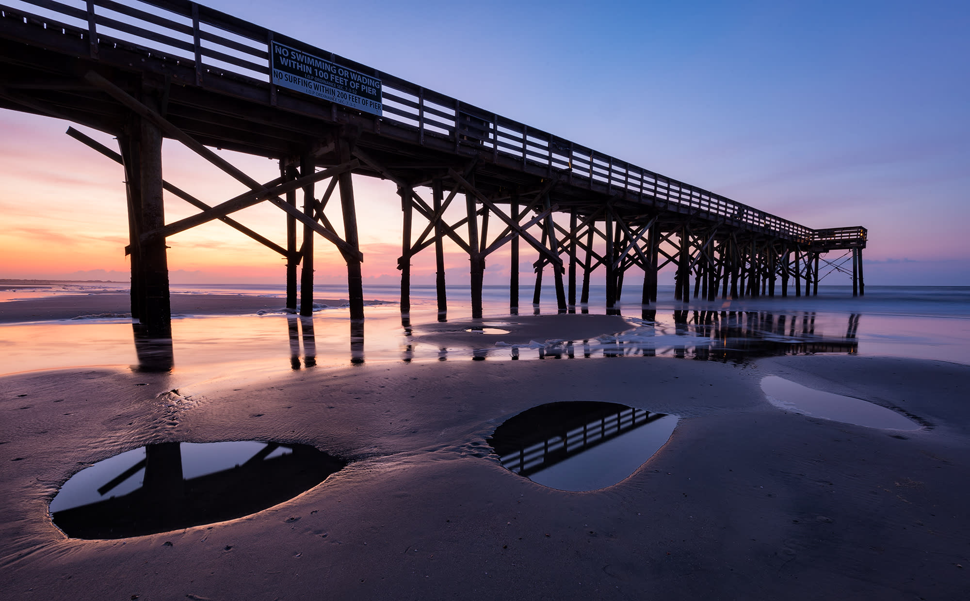 <div class='title'>           Isle of Palms Pier Sunrise and Tide Pools 1100 pix         </div>