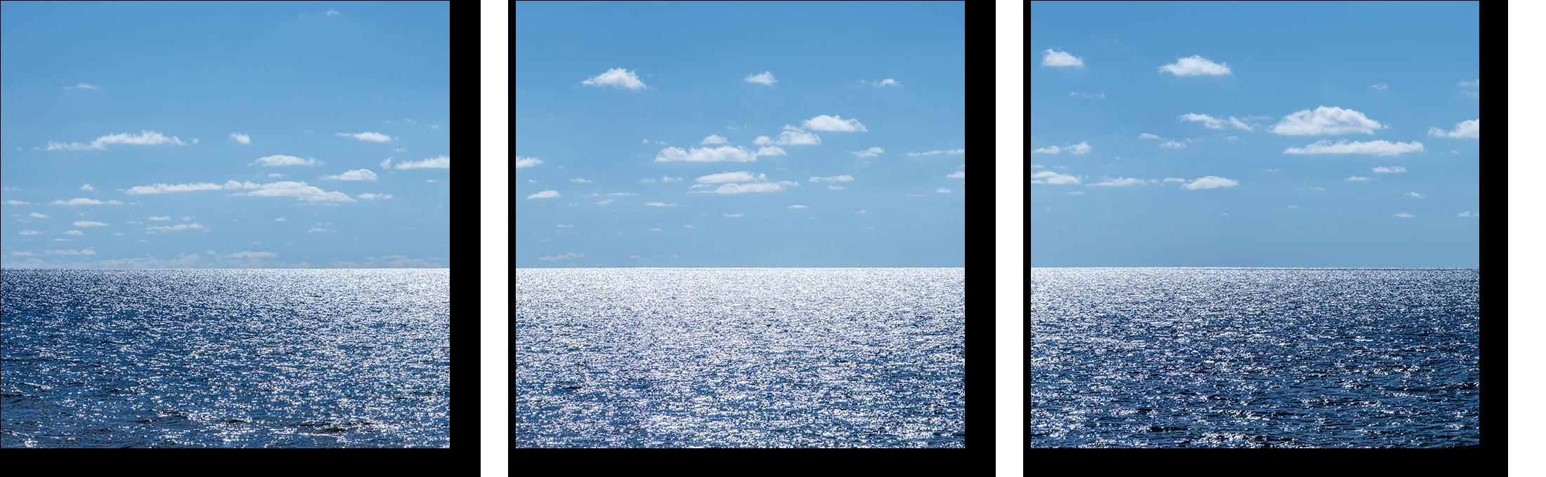 Glistening lake michigan triptych zcwdyy