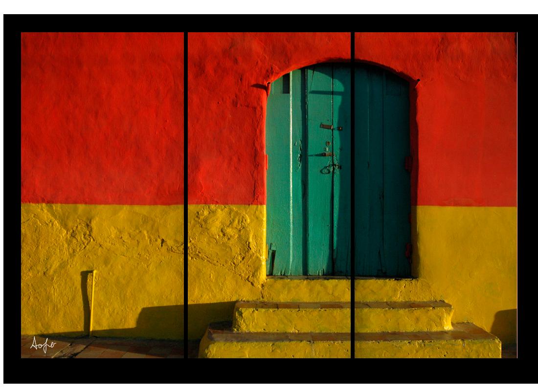 Triptych nic door dtveej