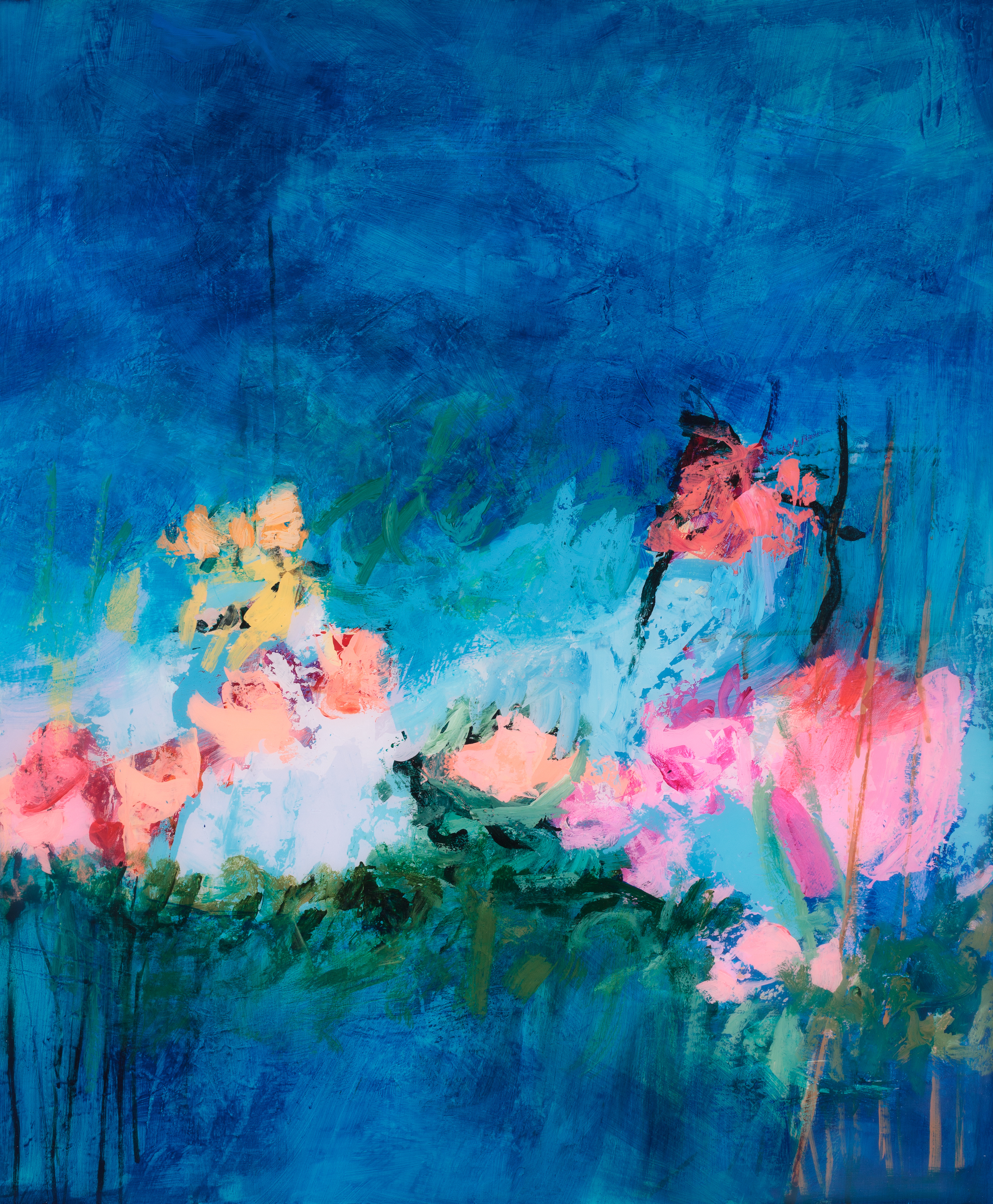 Tracy lynn pristas abstract floral artwork fisiet