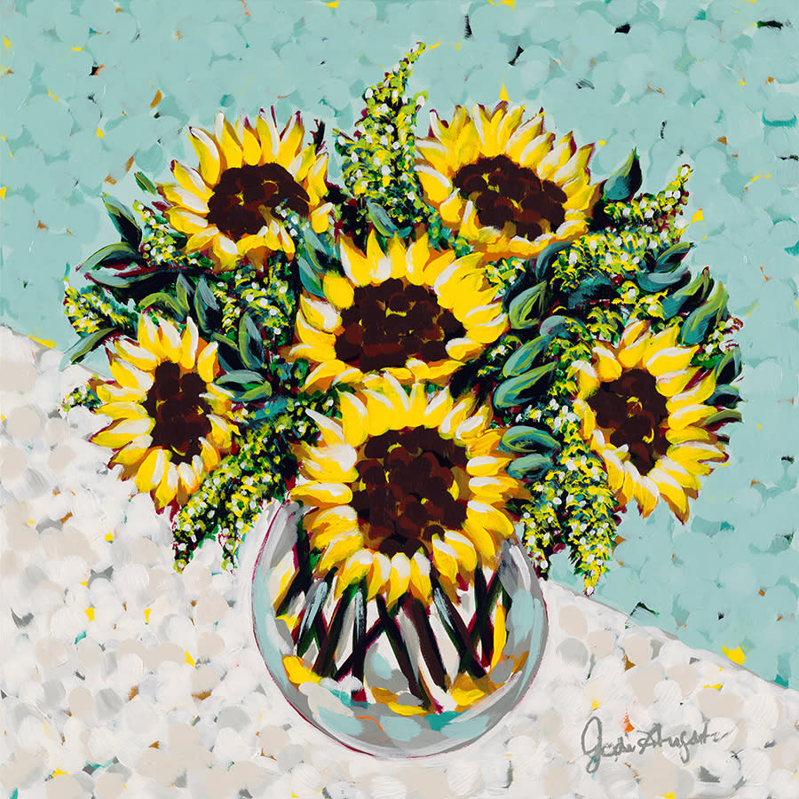 Jodi augustine sunflower bouquet exudoy