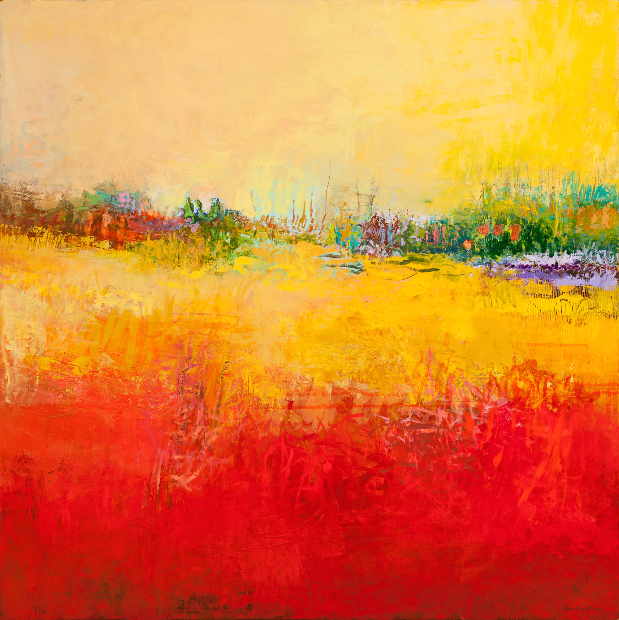 Tracy lynn pristas original paintings sold lucent immersion 48 x 48 b0xhcr