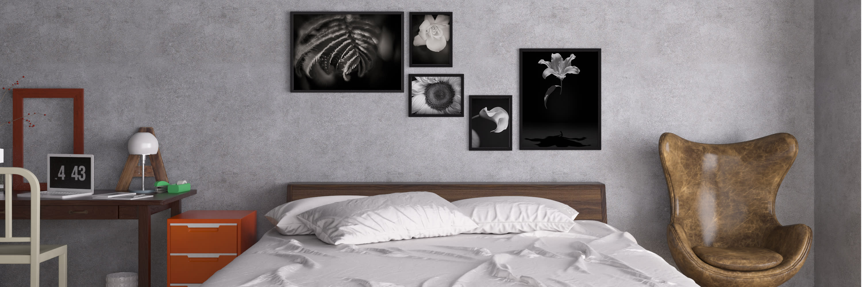 <div class='title'>           Flower Grouping Over Bed 3 1         </div>