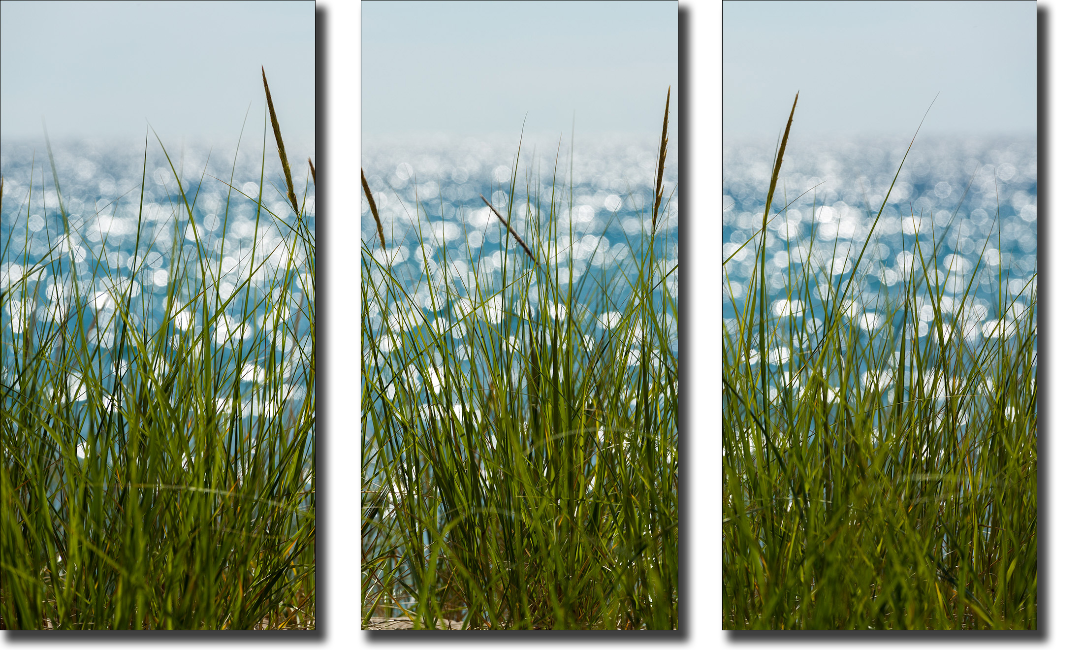 Glistening afternoon triptych yzdor9