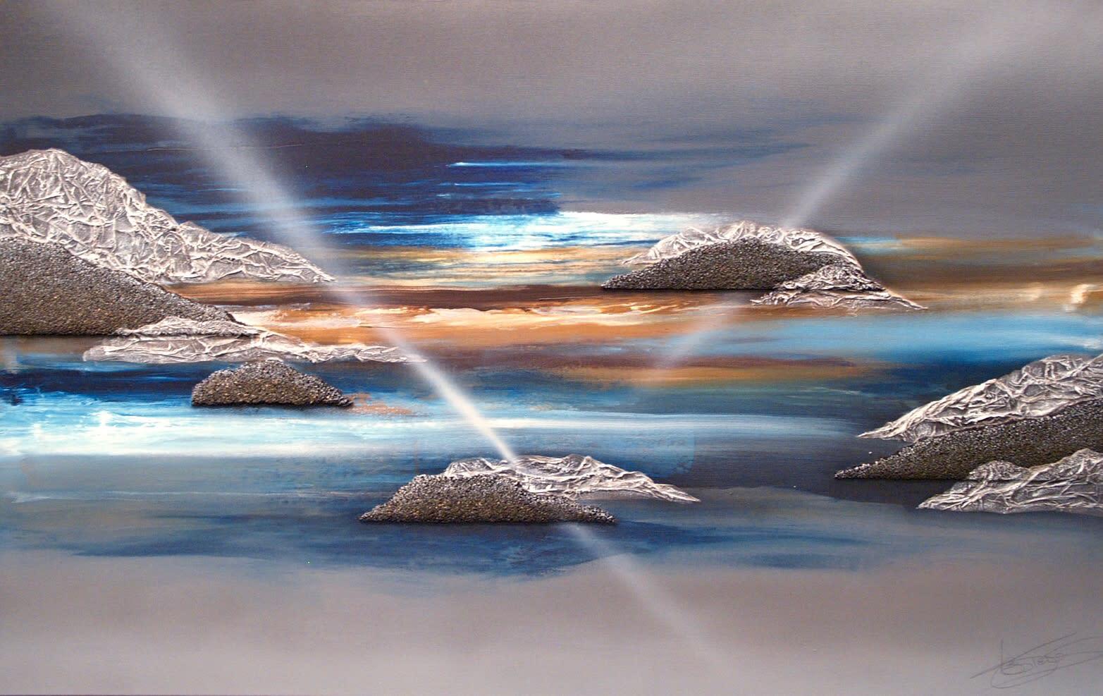 Blue landscape op2jcn