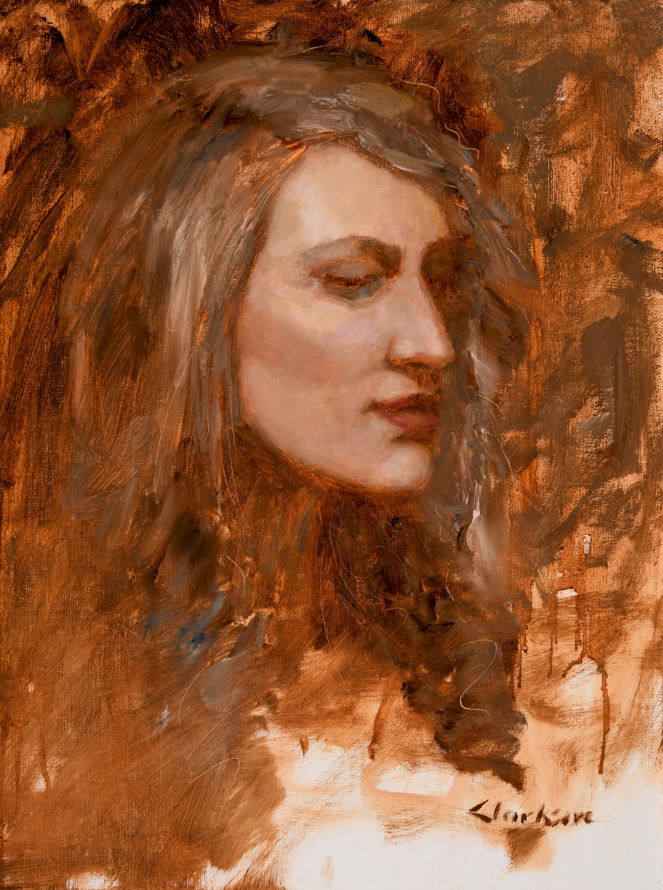 Lissa head study 150ppi red d6h4ft