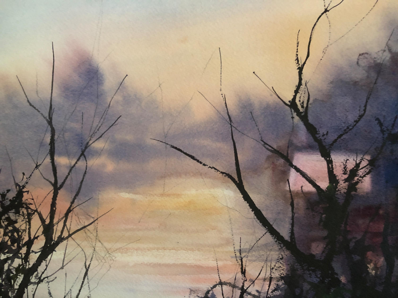 Early morning wilde lake d5tibi