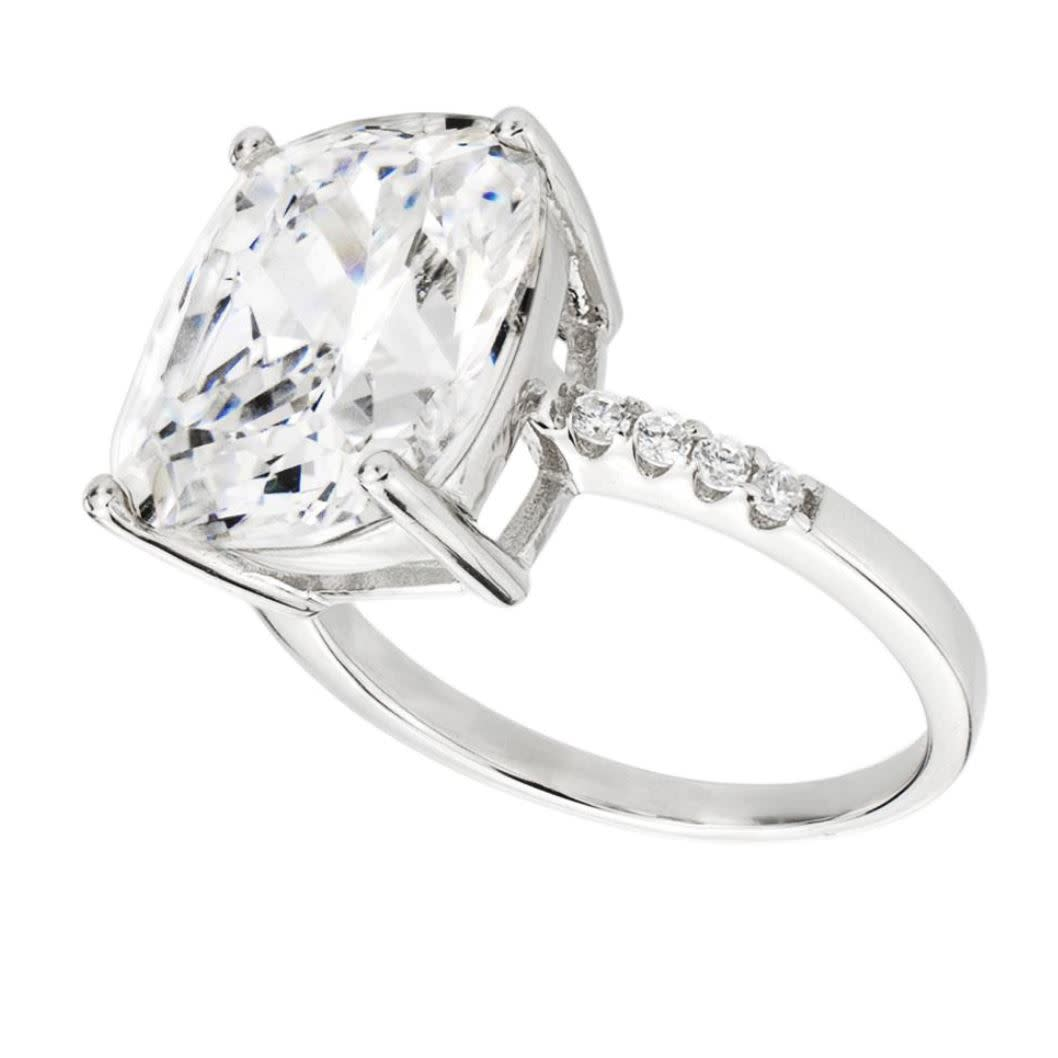 Sterling silver 4 carat floating ring 1 jpkvhz