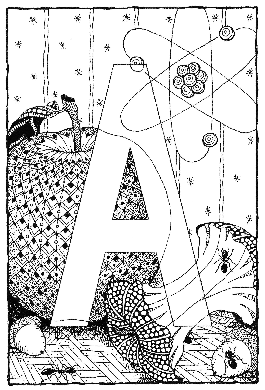 Alphabet  a zi9zax