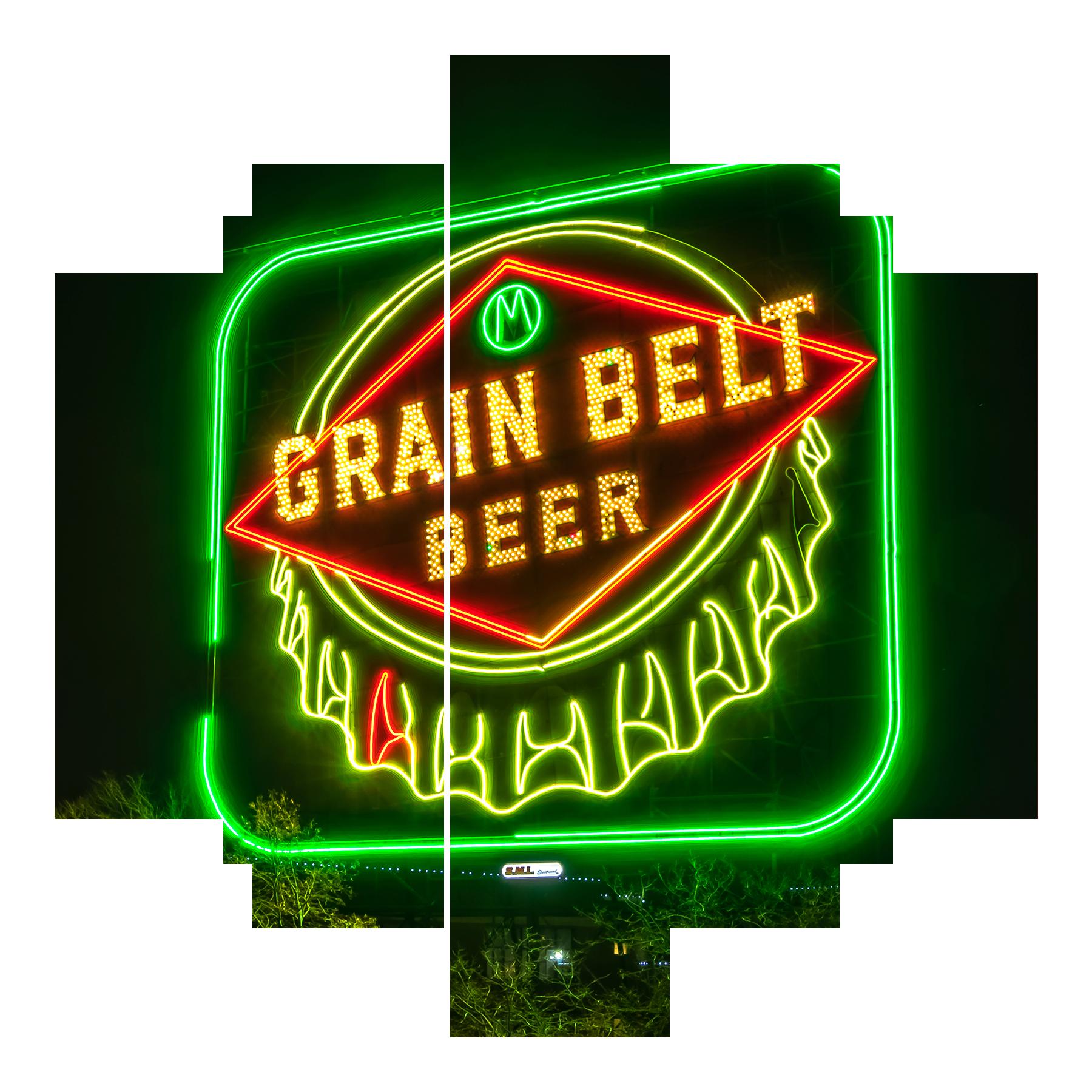 Grain belt beer sign mzwgmx