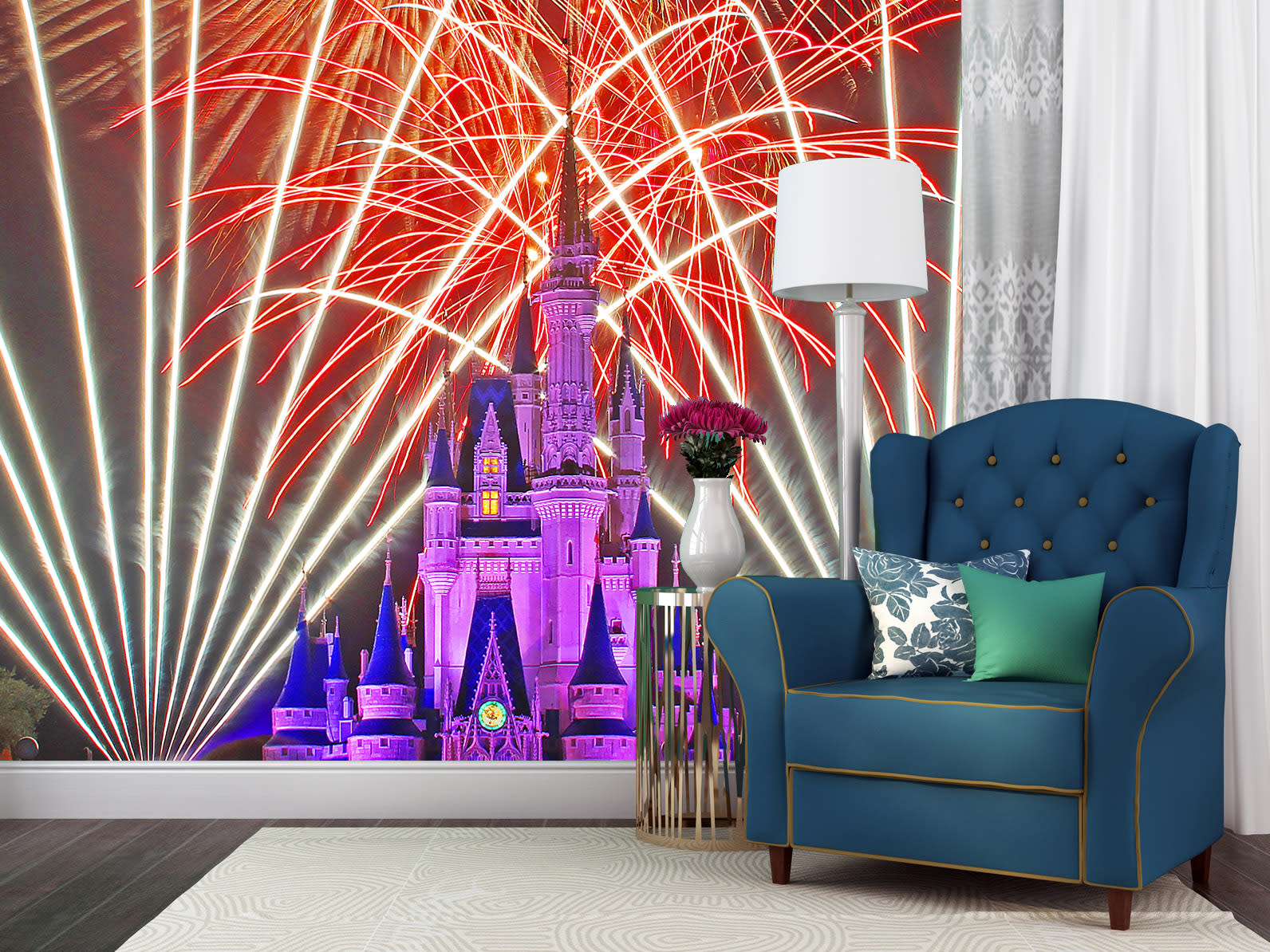 Cinderella s castle wishes or7hpq