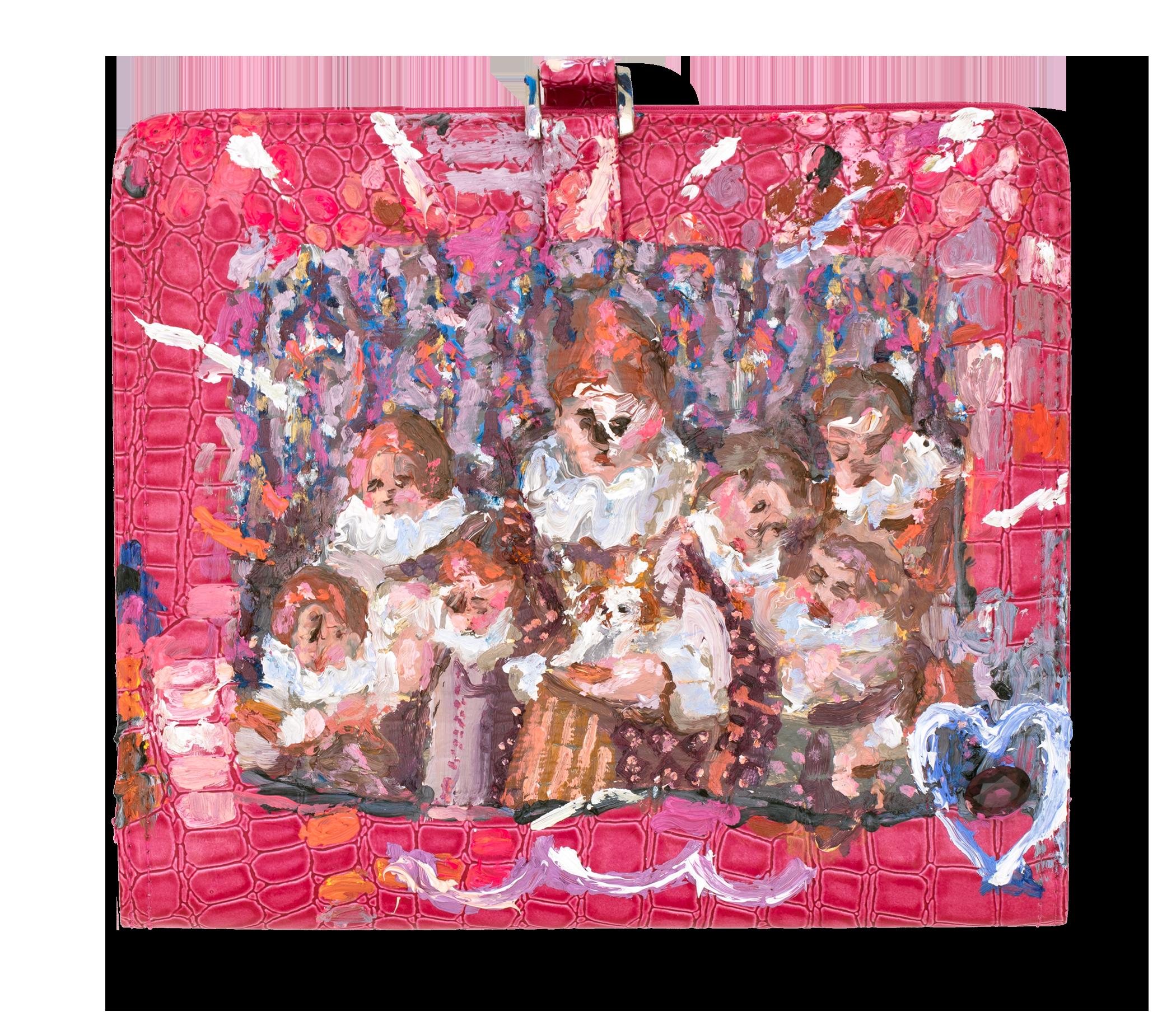 Croc royal gingers purse pg3s27