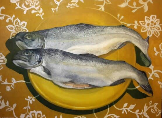 Rainbow trout b8ggu0