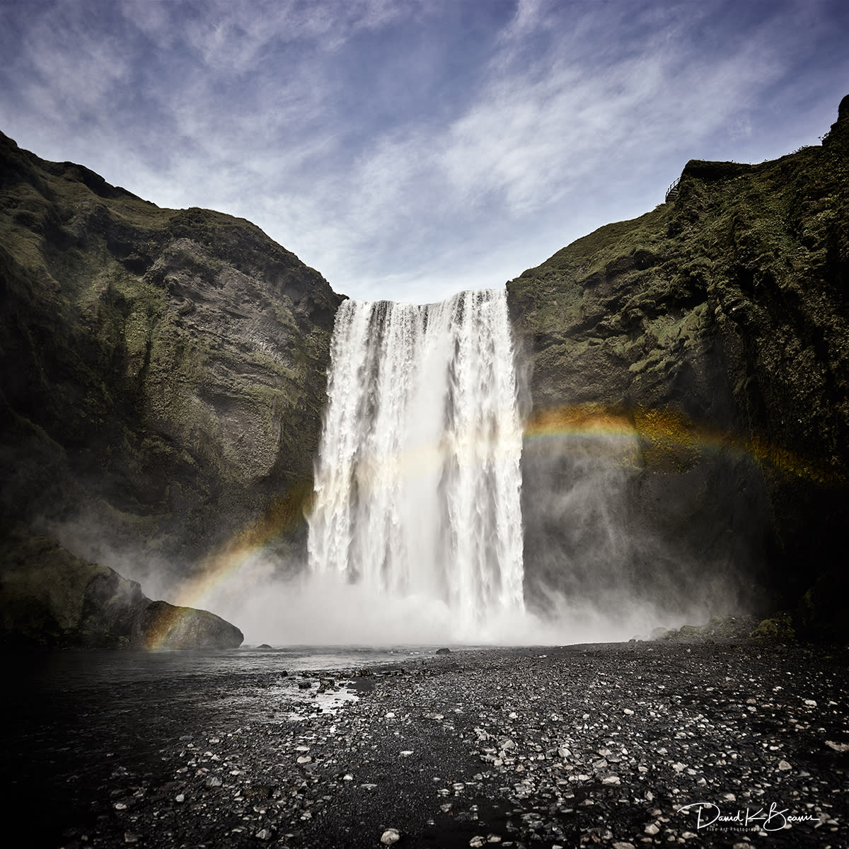 Skogafoss waterfall iceland xyxuiq ket2j5