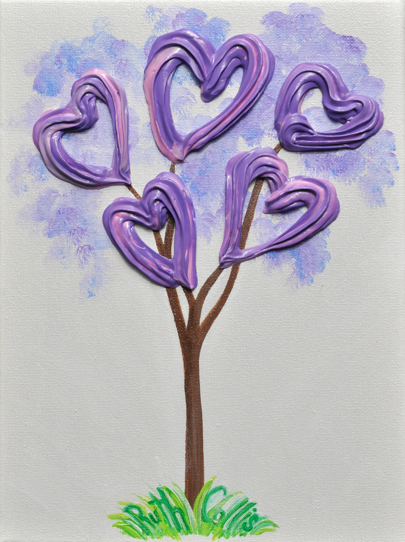 Purple heart tree fkyiem