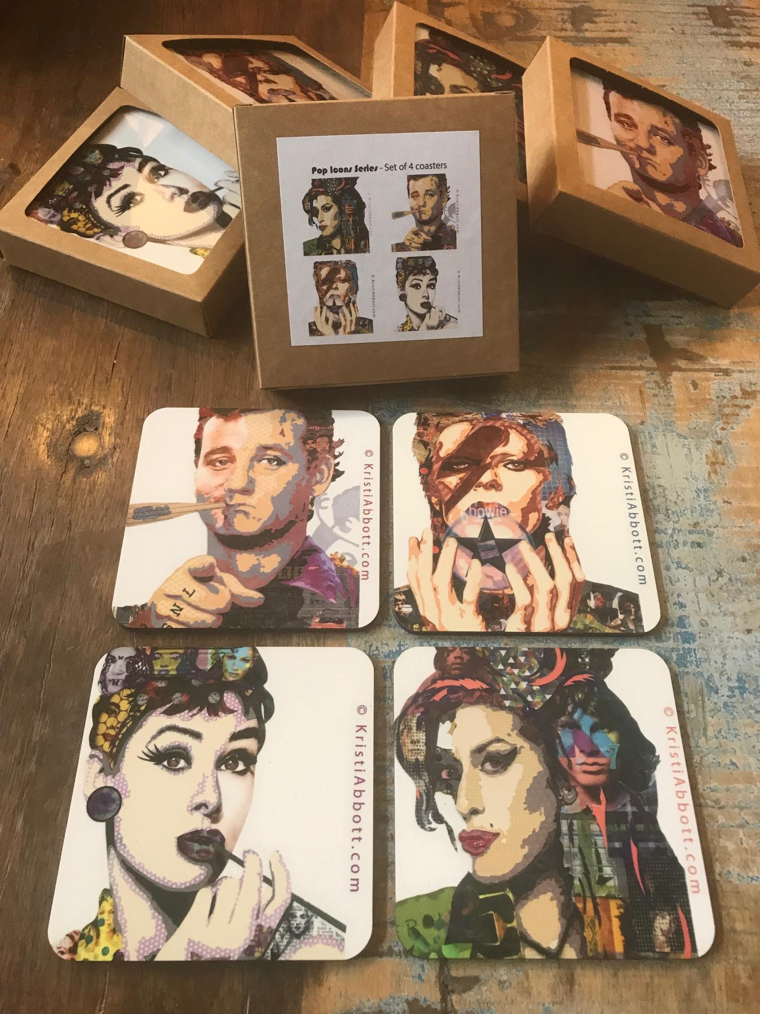 Icon coasters lqkswg