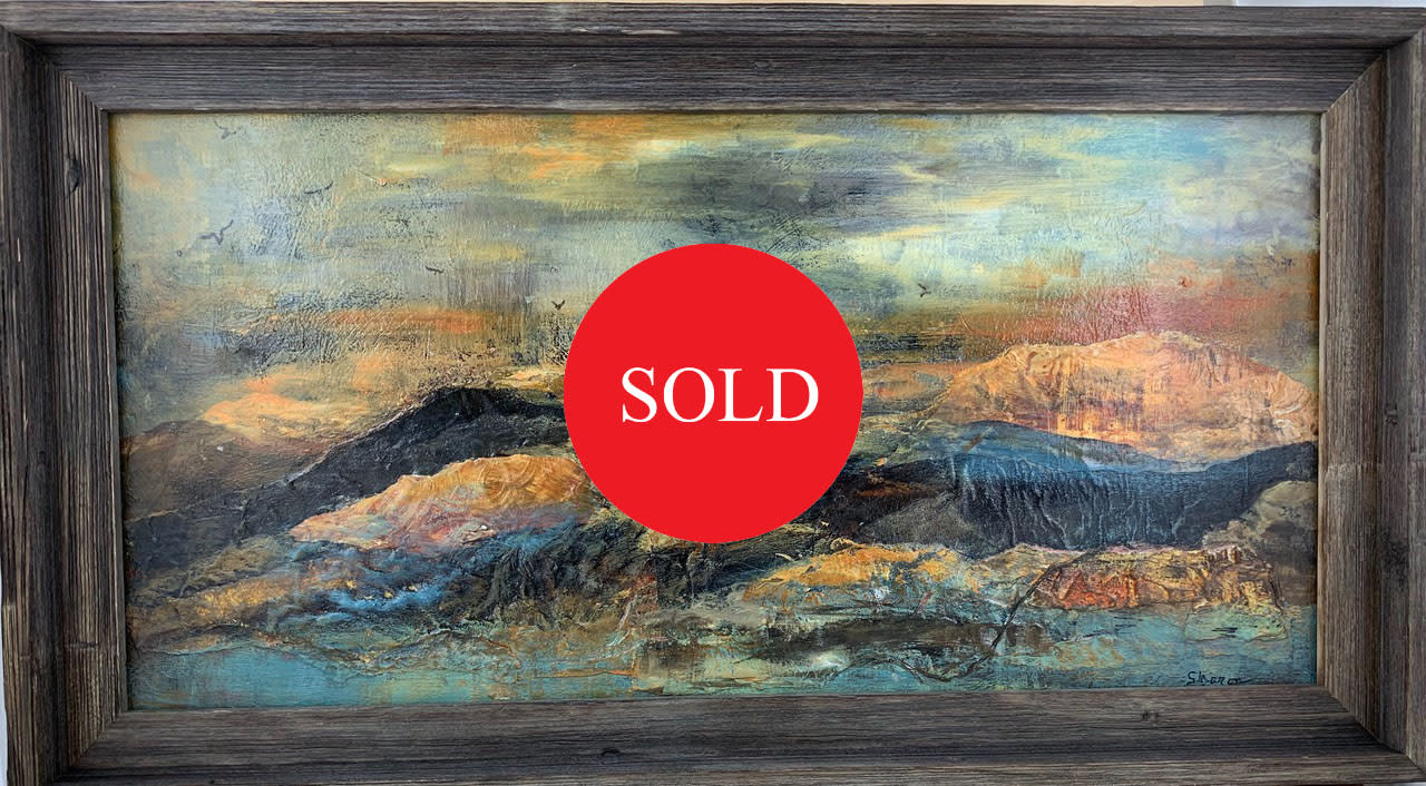 Sunset mountains   sold g1zzue