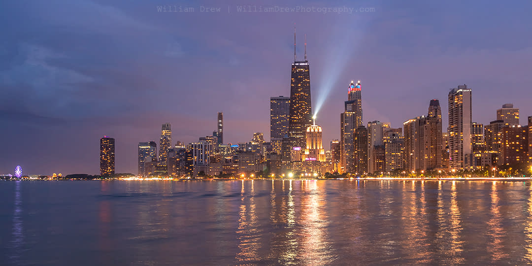 North avenue beach view of the chicago skyline sm tnyfwf