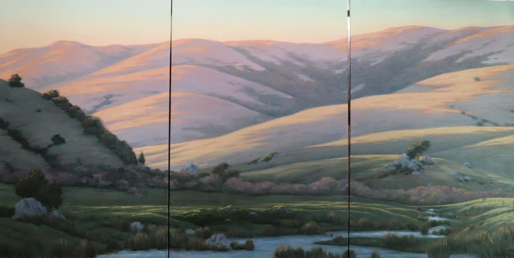 West county triptych 30 22 h x 60 22w l1ywco