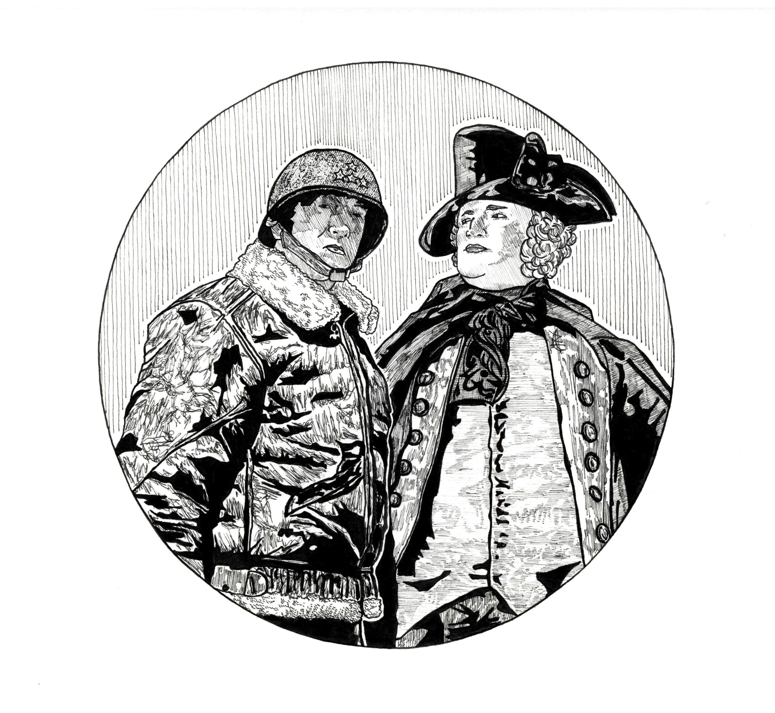 Logo  two generals games by cezacherl da4n1sh yssfvv
